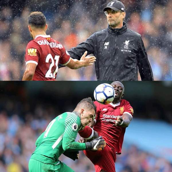 Klopp Remonstrates Over Mane Red Card In Liverpool Humiliation At Man City