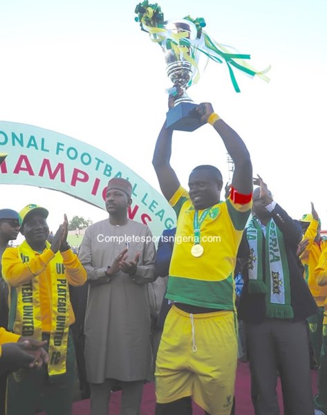Akanni: Plateau United Deserved Their NPFL Title