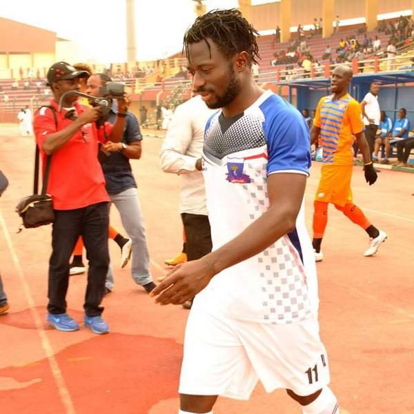 Ogbeide Sweats To Keep NPFL Hotshot Okpotu At Lobi Stars