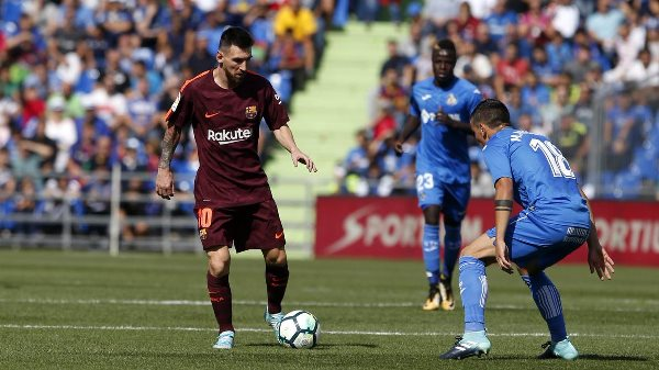 Barcelona Edge Getafe To Stay Top Of LaLiga