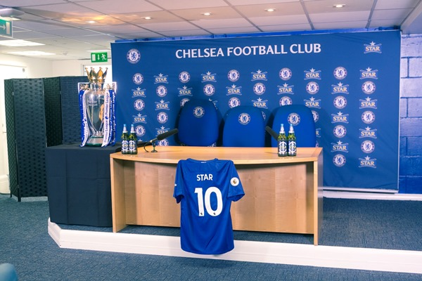 Star Lager Beer Now Official Beer Partner For Chelsea FC In Nigeria