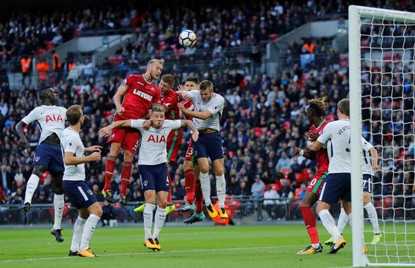 Tottenham Still Can't Win At Wembley, Held By Swansea