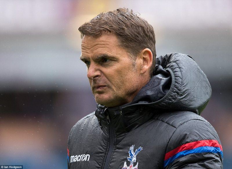 Unwanted Premier League History Puts Crystal Palace's Manager De Boer's Job In Danger