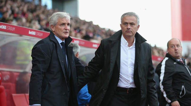 "Mark Hughes Blasts ""Lazy"" Mourinho After Stoke Criticism"
