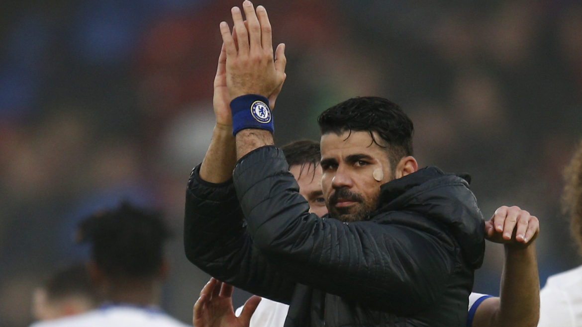 Diego Costa Sends Farewell Message To Chelsea After Sealing €60m Atletico Return