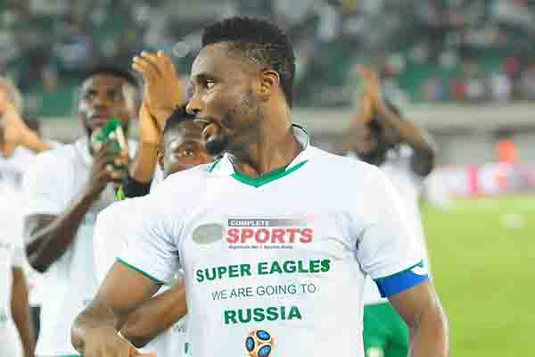 Mikel: World Cup Ticket Is Dream Come True