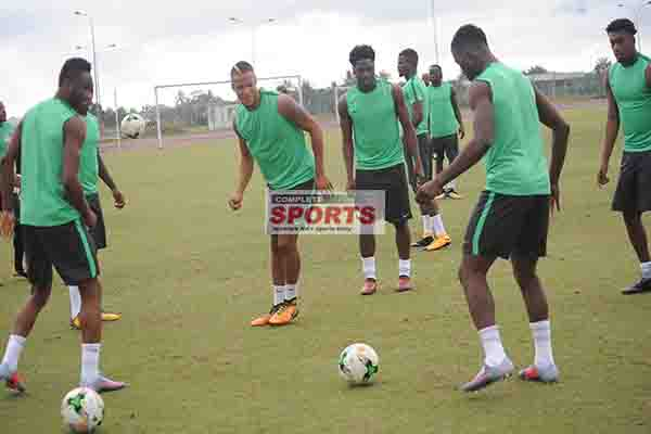 Semitoje: Eagles Defence Must Be Focused Against The  Pacy Zambians