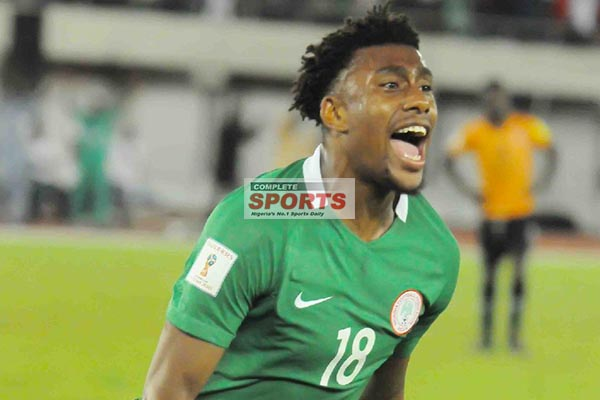 Iwobi: 2018 World Cup Qualification, A Dream Come True ‎