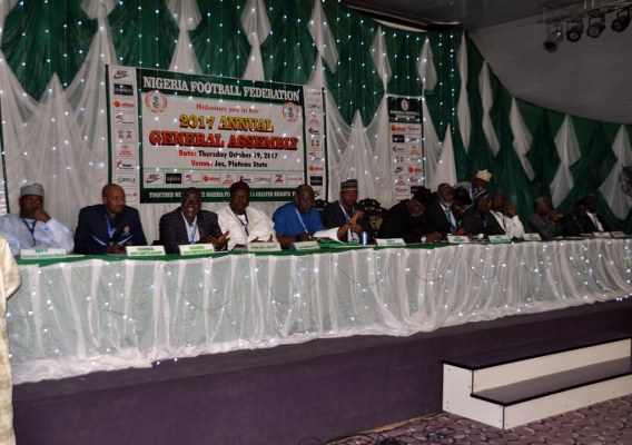 NFF General Assembly Approve N6.3Bn 2018 Budget, Back Pinnick