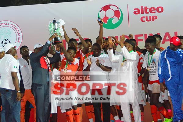 Akwa United Coach Maikaba: How We'll Conquer Africa After Aiteo Cup Win