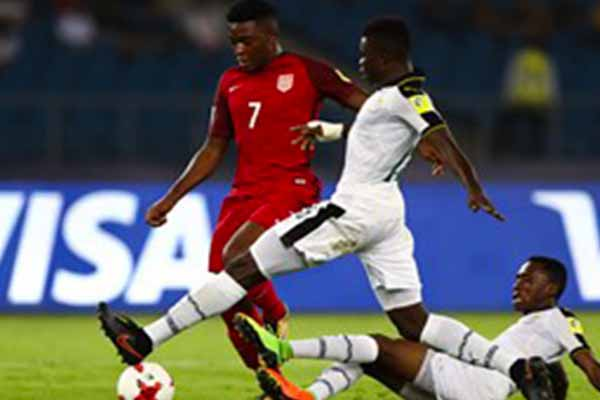 FIFA U-17 World Cup: Akinola Fires USA Past Ghana