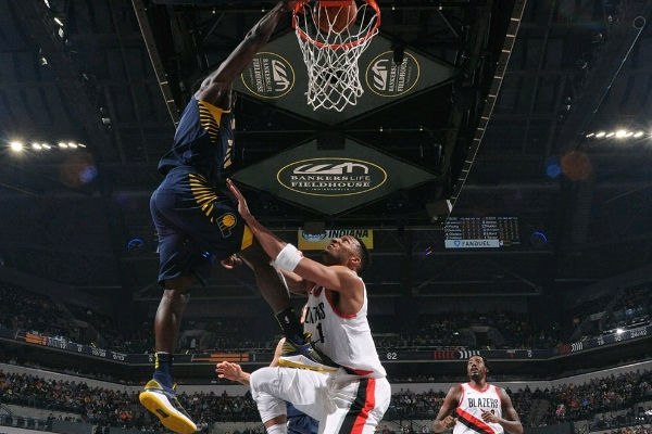 NBA: D'Tigers Star Aminu Helps Blazers Past Oladipo's Pacers