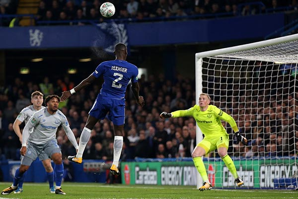 Chelsea Escape Late Everton Scare To Reach Carabao Cup Q/Finals