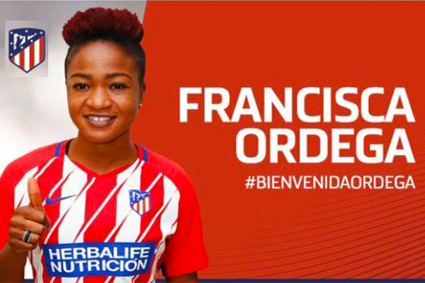 Ordega: It's An Honour To Join Atletico, I'll Make Fans Proud