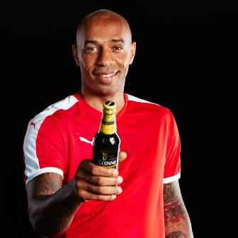 Guinness Announces Exciting New Made Of Black Partnership With Thierry Henry