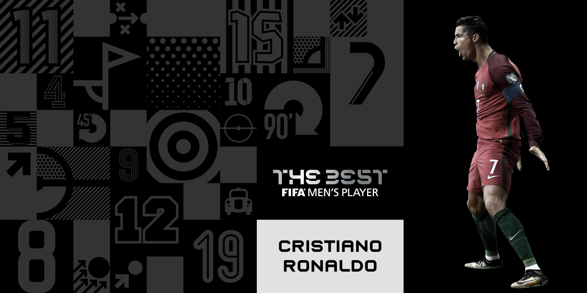 BREAKING: Ronaldo Wins 2017  FIFA Best Player Award