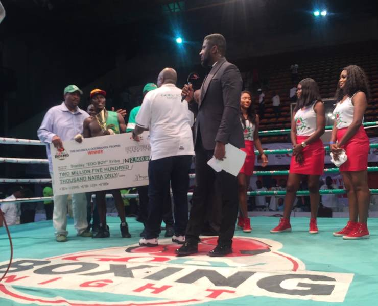 Eribo Wins Gotv Boxing Night Independence Day Special, Bags N2.5m