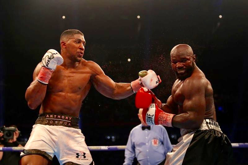 Takam Wants Rematch With Joshua, Blames Referee For TKO