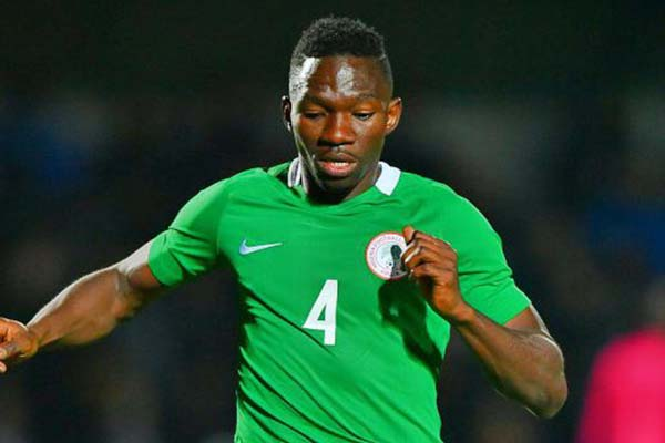 Omeruo Gets Late Eagles Call-Up For Algeria, Argentina Clashes