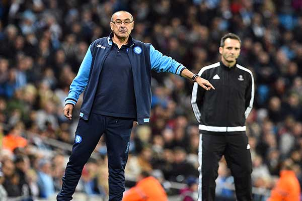 Napoli Boss Sarri: Man City As Good As Madrid, Barca