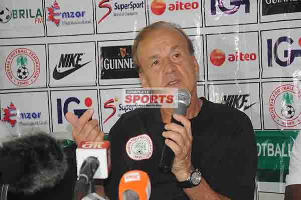 Rohr: Fitter Eagles Will Sustain Wembley Second Half Showing; Ndidi Will Start Today