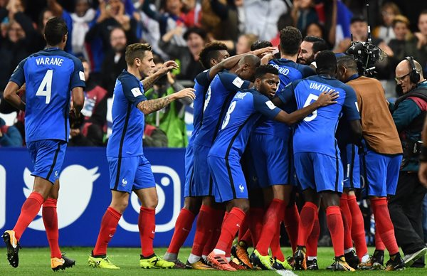 France, Portugal Confirm Russia 2018 Tickets; Holland, Belgium Win