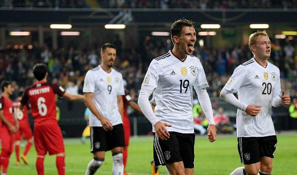 100%! Rampant Germany Thrash Azerbaijan, Set New Euro World Cup Qualifiers Record