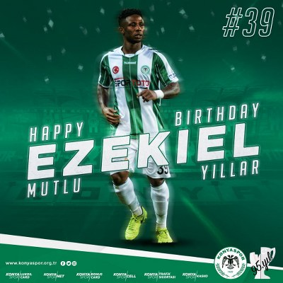 Konyaspor Celebrate Ezekiel At 24