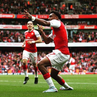 Iwobi: My Goal Perfect For Nigeria's Independence Day, Sanchez Is Incredible