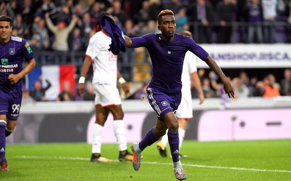 Onyekuru Scores Twice As Anderlecht Claim Nervy Win