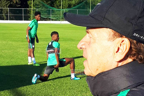 Rohr: I'll Make Seven Changes To Eagles Team In 'Test Game' Vs Algeria