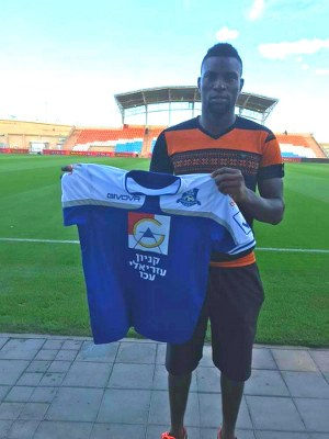 Ex-3SC Star Fiberesima Joins Israeli Club Acre Hapoel
