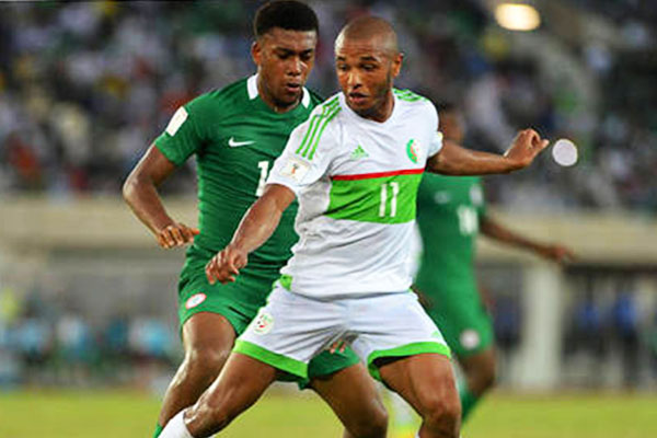 Lucky Algeria Get Controversial Penalty To Hold Unbeaten Nigeria