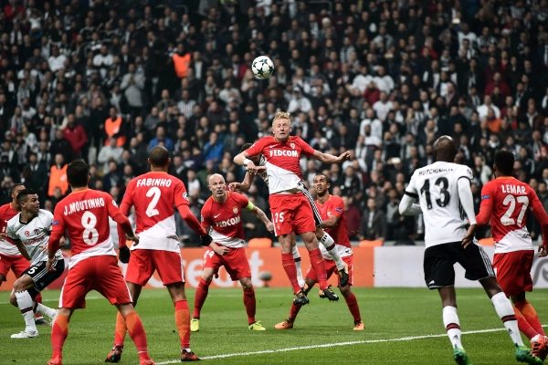 Champions League: Besiktas Hold Monaco, Stay Top Of Group