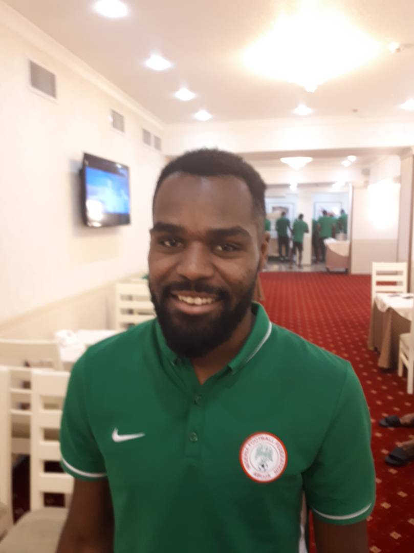 Russia-Based Idowu Joins Super Eagles Camp Ahead Argentina Of Friendly