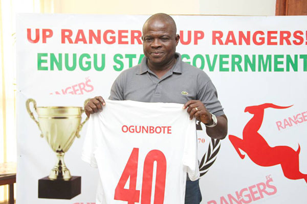 Rangers Unveil Ogunbote As New Head Coach