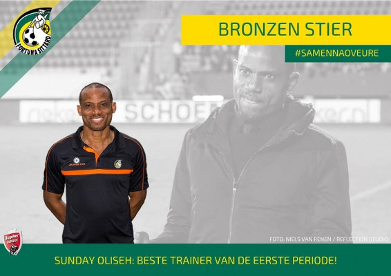 Oliseh Wins Best Coach Award In Dutch Second Division