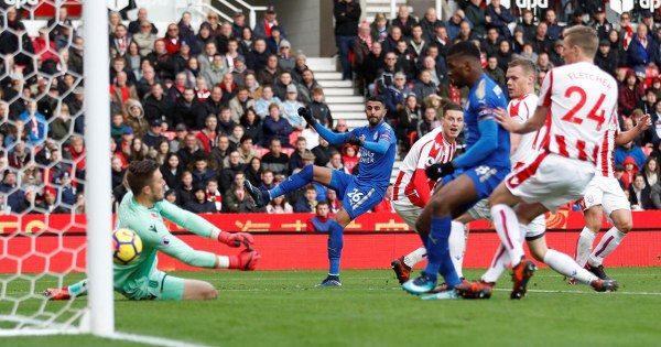 Ndidi Assists Mahrez Goal, Iheanacho's 'Goal' Disallowed As Stoke Hold Leicester