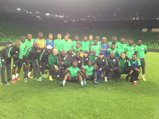 EXCLUSIVE: Akpeyi, Mikel Return As Super Eagles Play 3-5-2 Vs Russia
