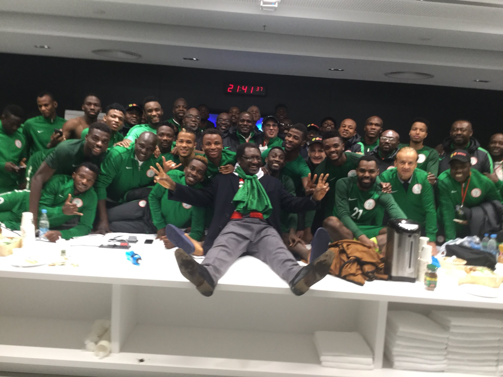 Rohr: Don't Call Eagles World Cup Favourites Because We Beat Argentina