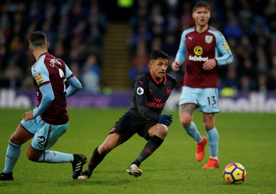 Iwobi Starts As Arsenal Edge Out Burnley With Late Penalty