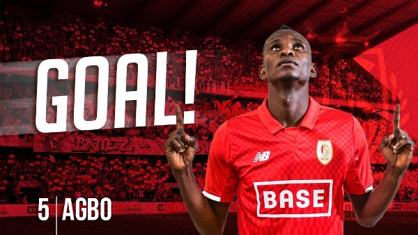 Uche Agbo Opens Standard Liege Goals Account In Genk Win
