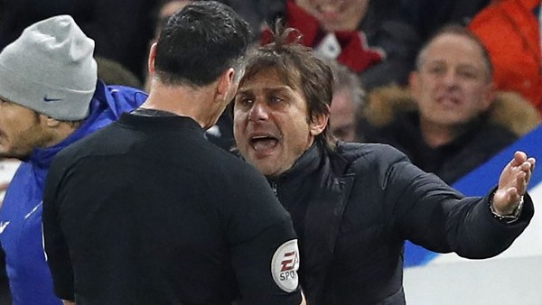 FA Charge Conte With Misconduct After Dismissal Vs Swansea