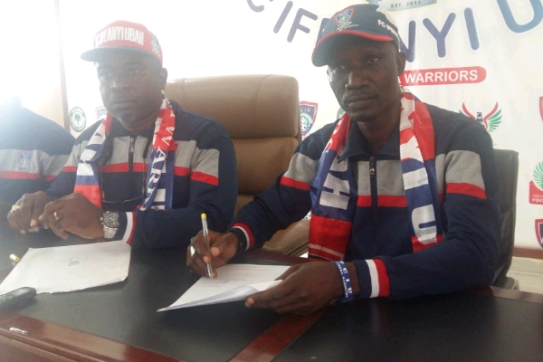 FC IfeanyiUbah Unveil Ladan Bosso As New Head Coach