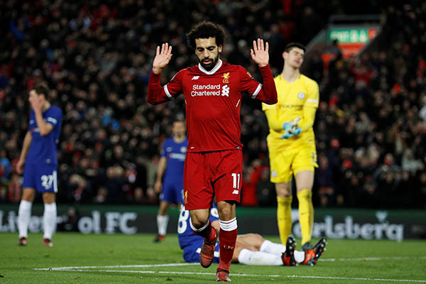 Moses Benched On Return, BBC Award Rival Salah Scores As Chelsea Hold Liverpool