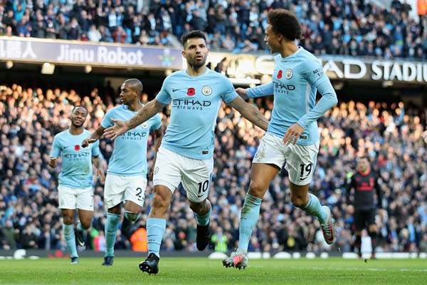 Iwobi Returns As Leaders Man City Outscore Arsenal