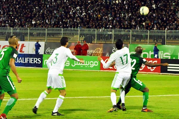 Algeria Penalty In Draw Vs Eagles Baffles Akpoborie