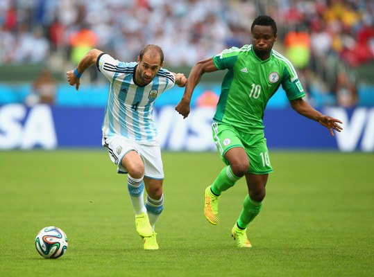 NIGERIA 0-5 SOUTH AMERICA: Super Eagles Winless Vs CONMEBOL Teams At Past World Cups