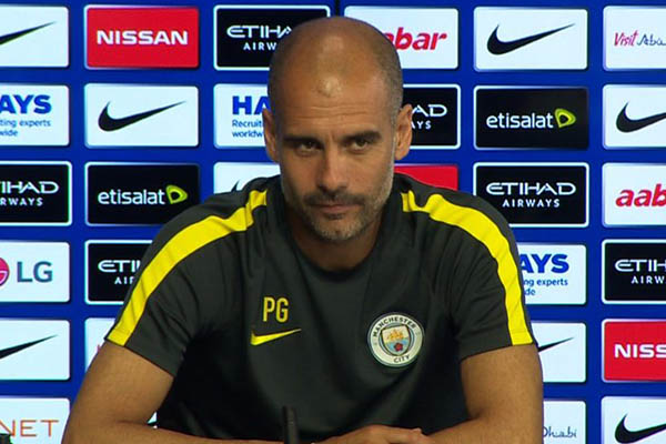 Guardiola Rules Sane, Silva, Gabriel Out Vs Leicester; Unhappy About Fixture Congestion
