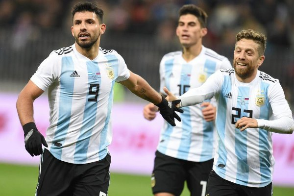 Aguero Collapses, Taken To Hospital As Argentina Fall To Super Eagles